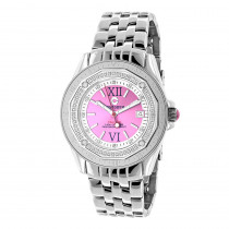 Pink Watches: Ladies Diamond Watch by Centorum 0.50ct Midsize Falcon