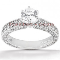 Platinum Diamond Engagement Ring 2.52ct