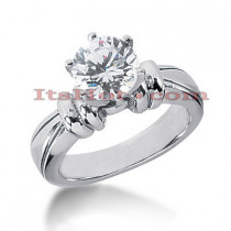 Platinum Diamond Engagement Ring Mounting
