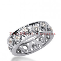 Platinum Diamond Eternity Band 0.70ct