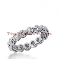 Platinum Diamond Eternity Band 0.72ct