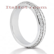 Platinum Diamond Eternity Band 0.80ct
