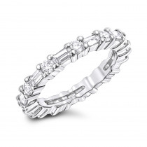 Platinum Diamond Eternity Band 1.56ct
