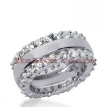 Platinum Diamond Eternity Band 1.86ct