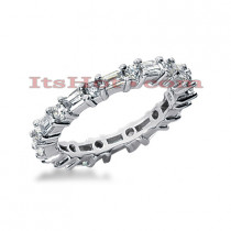 Platinum Diamond Eternity Band 1.90ct