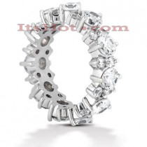 Platinum Diamond Eternity Band 4.40ct