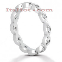 Platinum Diamond Eternity Ring 0.24ct