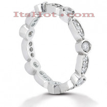 Platinum Diamond Eternity Ring 0.42ct
