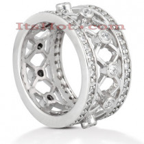 Platinum Diamond Eternity Ring 1ct