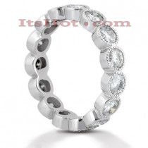 Platinum Diamond Eternity Ring 2.10ct