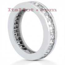 Platinum Diamond Eternity Ring 2.72ct