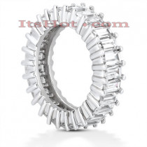 Platinum Diamond Eternity Ring 4.59ct