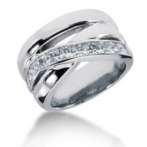 Platinum Ladies Diamond Ring 1.10ct