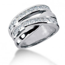 Platinum Ladies Diamond Ring 1.30ct
