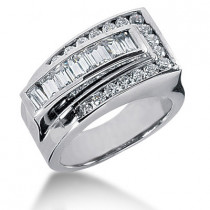 Platinum Ladies Diamond Ring 1.31ct