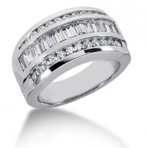 Platinum Ladies Diamond Ring 1.65ct