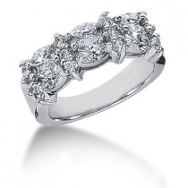 Platinum Ladies Diamond Ring 1.74ct