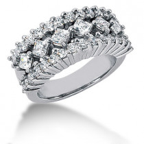 Platinum Ladies Diamond Ring 1.88ct