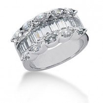 Platinum Ladies Diamond Ring 1.95ct