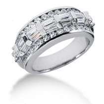 Platinum Ladies Diamond Ring 2.15ct