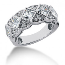 Platinum Ladies Diamond Ring 2.32ct