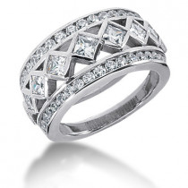 Platinum Ladies Diamond Ring 2.39ct