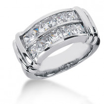 Platinum Ladies Diamond Ring 2.70ct