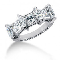 Platinum Ladies Diamond Ring 2.83ct