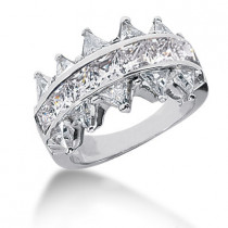 Platinum Ladies Diamond Ring 3.30ct