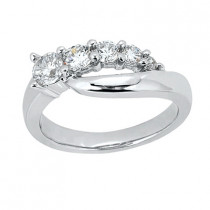 Platinum Round Diamond Ladies Ring 0.24ct