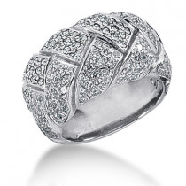 Platinum Round Diamond Ladies Ring 1.91ct