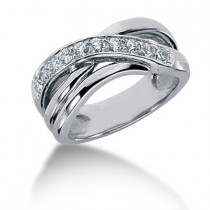 Platinum Women's Diamond Ring 0.40ct