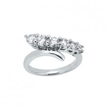Platinum Women's Diamond Ring 0.50ct