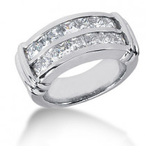 Platinum Women's Diamond Ring 2.38ct