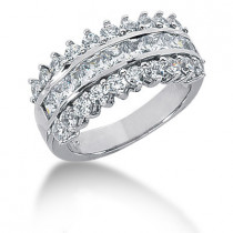 Platinum Women's Diamond Ring 2.46ct