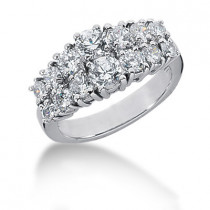 Platinum Women's Diamond Ring 2ct
