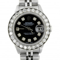 Rolex Datejust Diamond Watch for Women 1.7ct Stainless Steel
