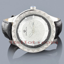 Super Techno Watches: Mens Diamond Watch 0.12ct