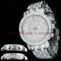 Unique Custom Diamond Benny Co Watch Mens 25ct