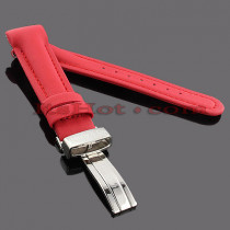 Watch Bands: Benny & Co Polyurethane Watch Band 20mm Red