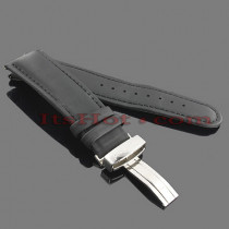 Watch Bands: Joe Rodeo Polyurethane Watch Band 24mm Black