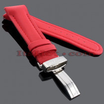 Watch Bands: Joe Rodeo Polyurethane Watch Band 24mm Red