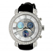 6.5 Carats G VS Diamonds Swiss Made Mens Diamond Watch Benny and Co