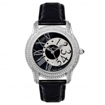 Womens Joe Rodeo Beverly Diamond Watch 1.35ct Black