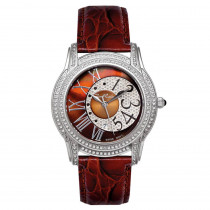 Womens Joe Rodeo Diamond Watch 1.35ct Chocolate Beverly