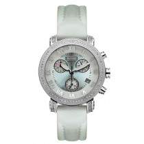 Womens Joe Rodeo Diamond Watches Rainbow Floating Stones Watch 0.75ct