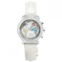 Womens JOJO Diamond Watch 0.60ct, White