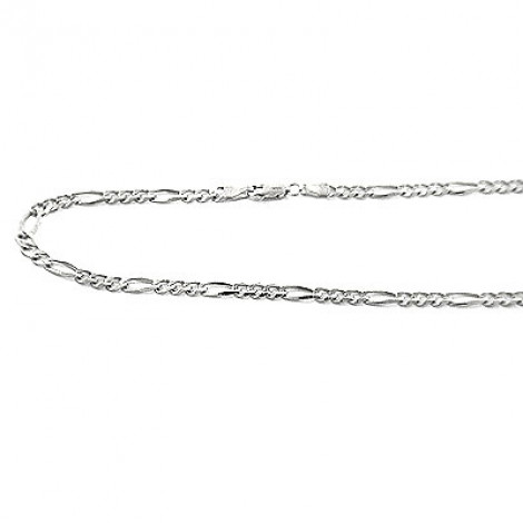 14K Gold Figaro Chains Collection Item 4mm, 20in - 40in Main Image
