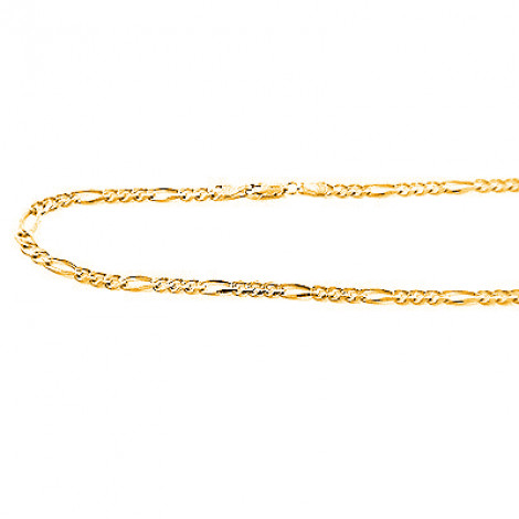 14K Yellow Gold Concave Figaro Chains Collection Item 5mm 20in - 40in 14k-yellow-gold-concave-figaro-chains-collection-item-5mm-20in-40in_1