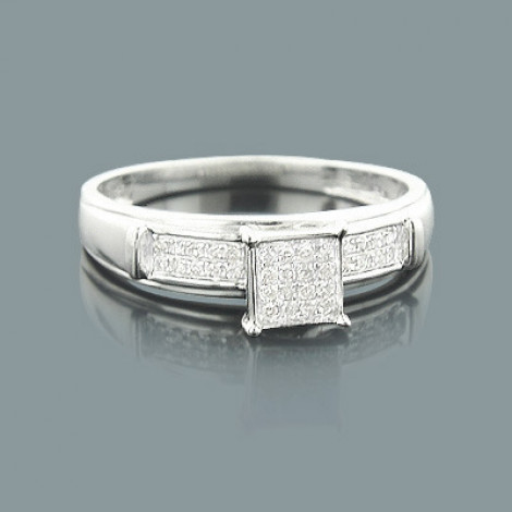 Real Diamond Promise Ring in Sterling Silver 0.14ct  promise-rings-affordable-diamond-engagement-ring-014ct-sterling-silver